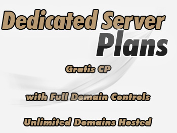 Low-cost dedicated server services
